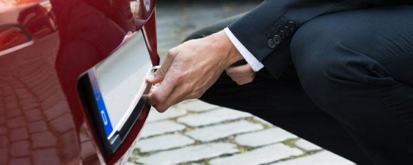 Immatriculation d'un véhicule